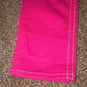 Miss Me Jeans - Miss Me sz 25 pink capris